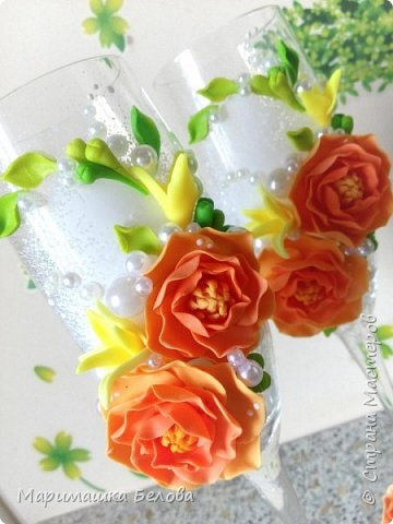 """Набор свадебных аксессуаров """"Лиана"""" фото 4"""