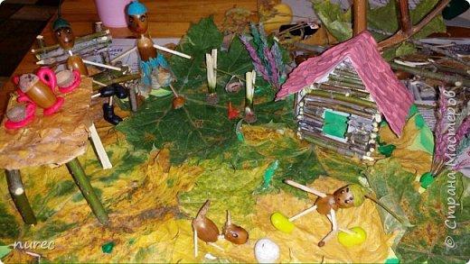 наша совместная с ребенком (4г) поделка в детский сад