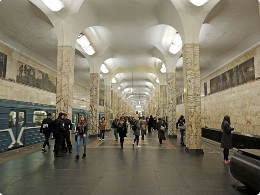 Московского метрополитена, располагающаяся между станциями «Павелецкая» и «Технопарк». фото 3