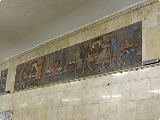 Московского метрополитена, располагающаяся между станциями «Павелецкая» и «Технопарк». фото 5
