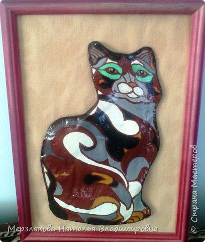 Кошка из солёного теста в стиле  De Rosa/Rinconada