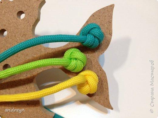 """Здравствуйте. Вот такую шнуровку """"Рыбка"""" сделал детям. Рыбку купил в магазине для творчества и рукоделия.  фото 2"""