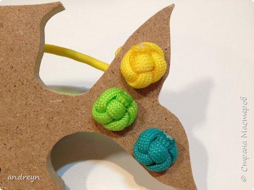 """Здравствуйте. Вот такую шнуровку """"Рыбка"""" сделал детям. Рыбку купил в магазине для творчества и рукоделия.  фото 3"""