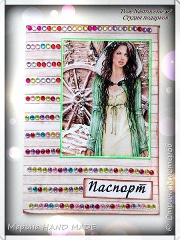 Обложки на российский паспорт фото 2