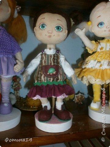 Высота куклы 22 см. фото 1
