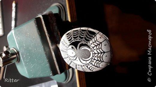 Серебрянные ложки. Выпиливание .Паук фото 5