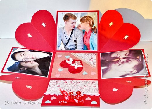 Девушка заказала в подарок для своего молодого человека на день рождения коробочку с фотографиями. фото 3