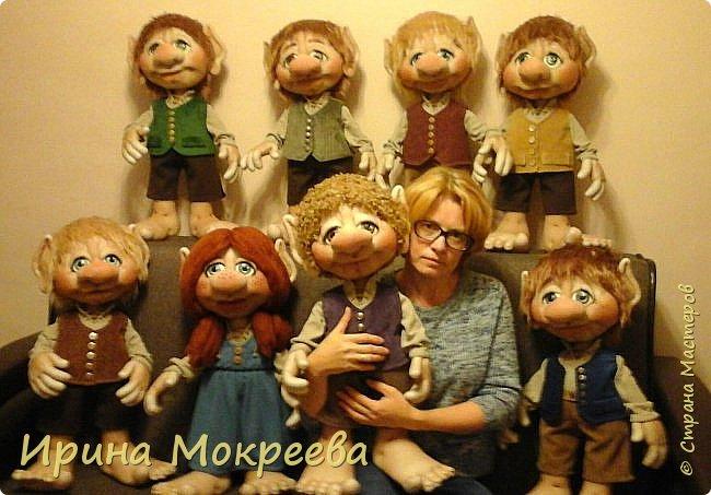 Здравствуйте жители страны мастеров.Хочу показать вам свою большую во всех смыслах работу ( по количеству и размеру ,рост кукол 65 см ) фото 13
