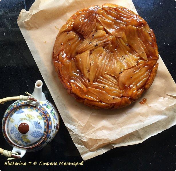 Грушевый пирог-перевертыш фото 1
