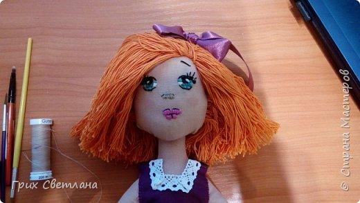 Вот такая рыжая девчуля получилась у меня фото 5