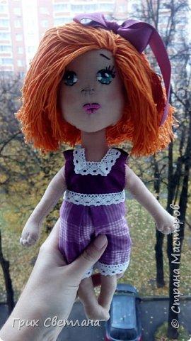 Вот такая рыжая девчуля получилась у меня фото 6