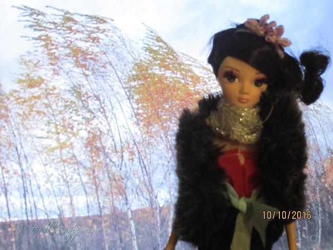 Здравствуйте! Сегодня я представляю вам свою новую работу.  Я выбрала королеву осенней погоды. Всего таких королев погоды 4. Одна из них королева зимы, другая-весны, третья-лета, а четвёртая-осени. Сегодня познакомимся с королевой осенней погоды-Оттой (В нашем мире-Софией).  Отта- Королева осенней погоды. Ей всего 15, но она уже царствует в нашем мире. фото 6