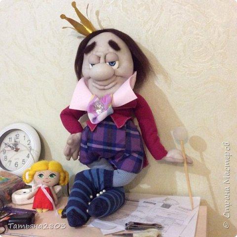 Домовенок. Кукла изготавливается в единственном экземпляре. Повторов нет. фото 2