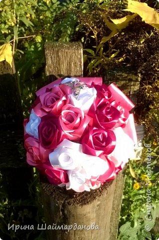 Брошь-букет в моих любимых цветах этой осени) фото 3