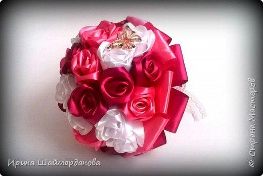 Брошь-букет в моих любимых цветах этой осени) фото 1