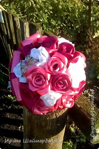 Брошь-букет в моих любимых цветах этой осени) фото 4
