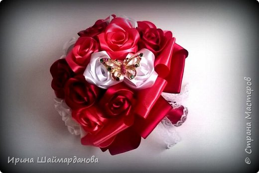 Брошь-букет в моих любимых цветах этой осени) фото 5