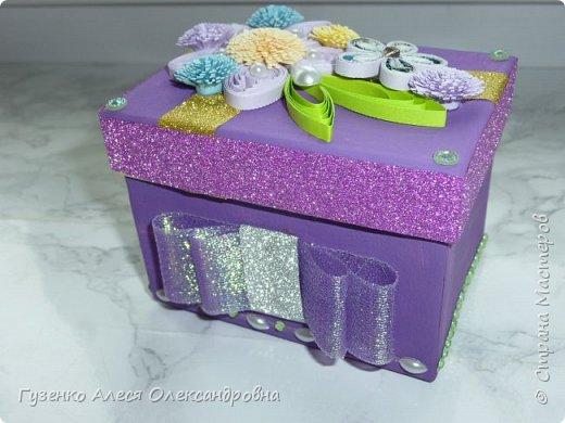 моя коробка с декором фото 2
