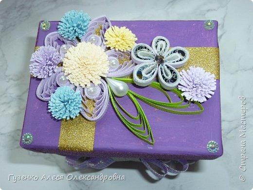 моя коробка с декором фото 1