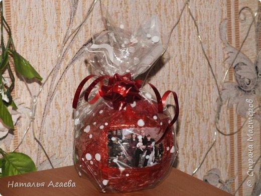 новогодние шарики с фото фото 3