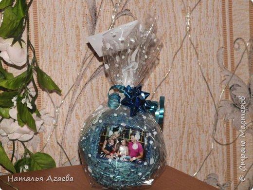 новогодние шарики с фото фото 4