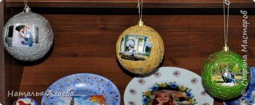 новогодние шарики с фото фото 1