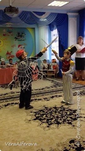 Костюм паука и сказка в садик. фото 2