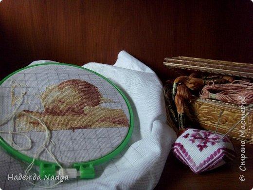 Метрика с датой рождения моего сыночка))) Схему брала из интернета. фото 2