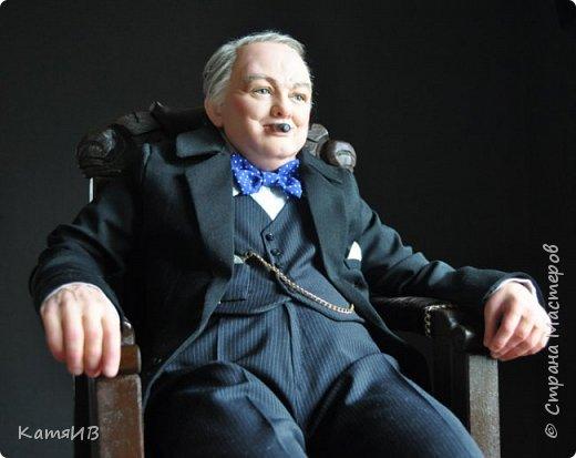 "Кукла ""Уинстон Черчилль"" автор Тимкаева Елена фото 2"