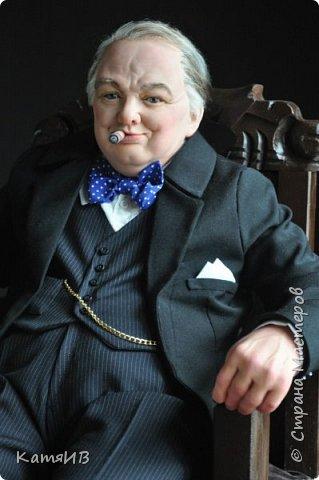 "Кукла ""Уинстон Черчилль"" автор Тимкаева Елена фото 3"