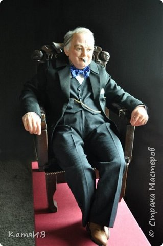 "Кукла ""Уинстон Черчилль"" автор Тимкаева Елена фото 4"