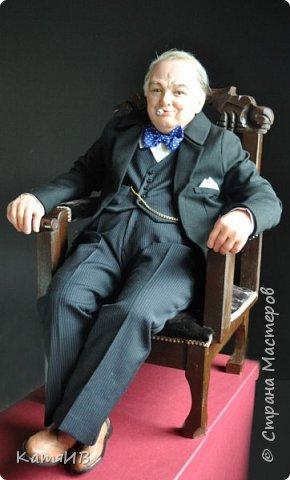 "Кукла ""Уинстон Черчилль"" автор Тимкаева Елена фото 5"