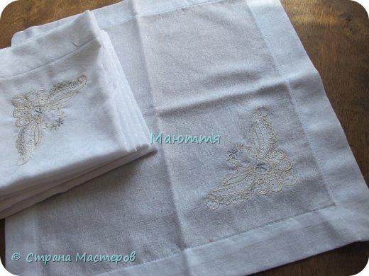 Льняные мешочки для мелочей. С вышивкой. Специально подбирала рисунки, чтоб, вроде, одинаковые, но разные)) фото 8