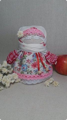 Новая Крупеничка. Куколка получилась яркая, нарядная, в русском стиле.  фото 5