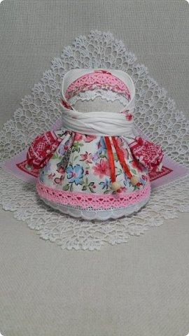 Новая Крупеничка. Куколка получилась яркая, нарядная, в русском стиле.  фото 4