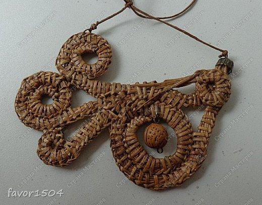 Безниточное плетение сосновой иглой фото 1