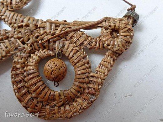 Безниточное плетение сосновой иглой фото 2