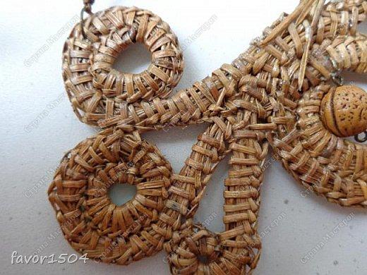 Безниточное плетение сосновой иглой фото 3