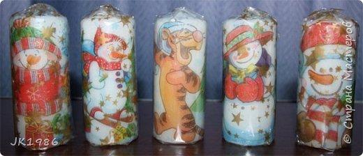 Свечки к новому году) фото 3