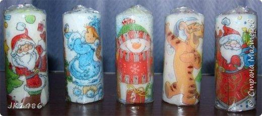 Свечки к новому году) фото 5