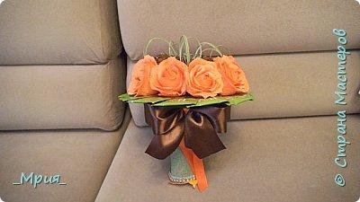 """""""Ореховое настроение"""" -Вот такая осень,орешки с розами и зелёный чай. фото 2"""