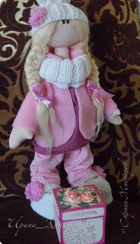 Доброго времени суток всем жителям и гостям СМ!!! Вот такой комплект мне заказали для подарка....кукла и Меджик Бокс...)))) фото 1