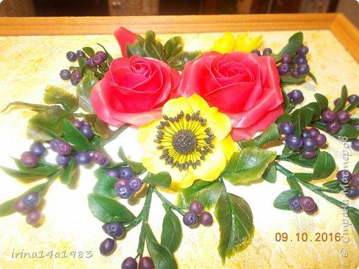 Всем добрый день! Слепились у меня вот такие цветочки и ягодки. фото 3