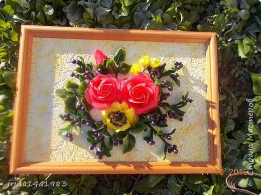 Всем добрый день! Слепились у меня вот такие цветочки и ягодки. фото 7