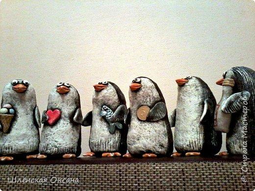 Доброго времени суток,Страна Мастеров!Ну вот наконец покрасила пингвинов.Пингвины уезжают в Красноярск. фото 3