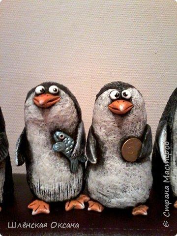 Доброго времени суток,Страна Мастеров!Ну вот наконец покрасила пингвинов.Пингвины уезжают в Красноярск. фото 8