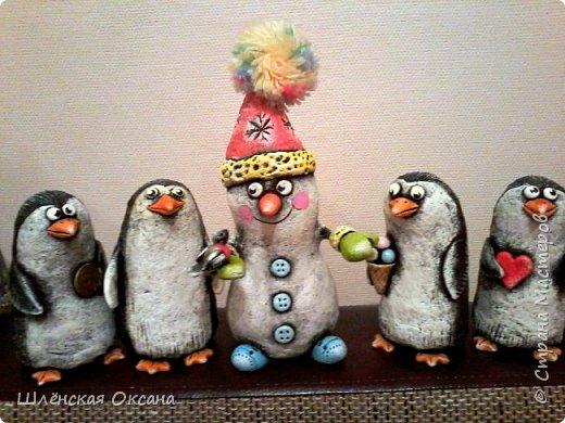 Доброго времени суток,Страна Мастеров!Ну вот наконец покрасила пингвинов.Пингвины уезжают в Красноярск. фото 4