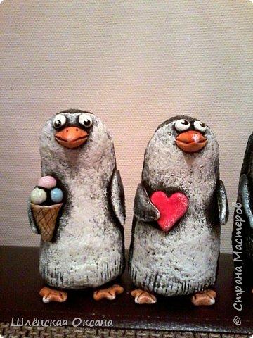 Доброго времени суток,Страна Мастеров!Ну вот наконец покрасила пингвинов.Пингвины уезжают в Красноярск. фото 7