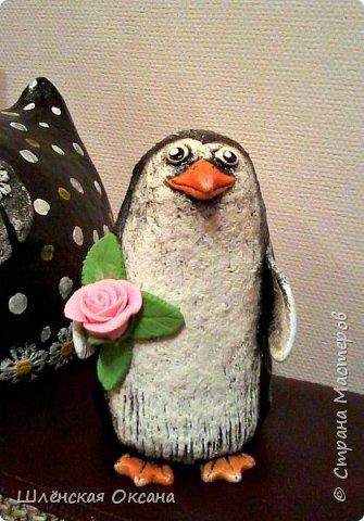 Доброго времени суток,Страна Мастеров!Ну вот наконец покрасила пингвинов.Пингвины уезжают в Красноярск. фото 9