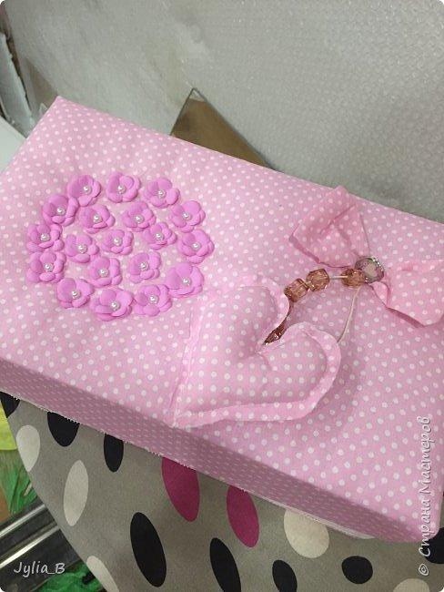 Подарок девочке на 10 лет. Коробка для мелочей и блокнот фото 1